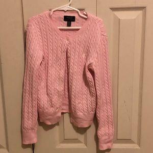 Brand new Ralph Lauren kids button up sweater